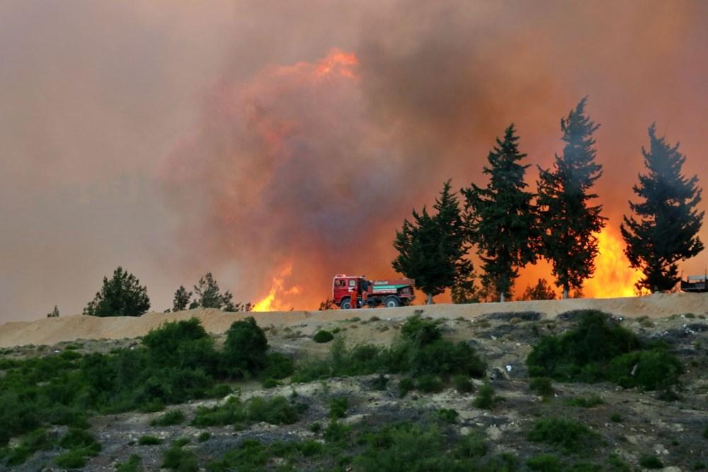 Adana'da orman yangını: 8 köy boşaltıldı - 21