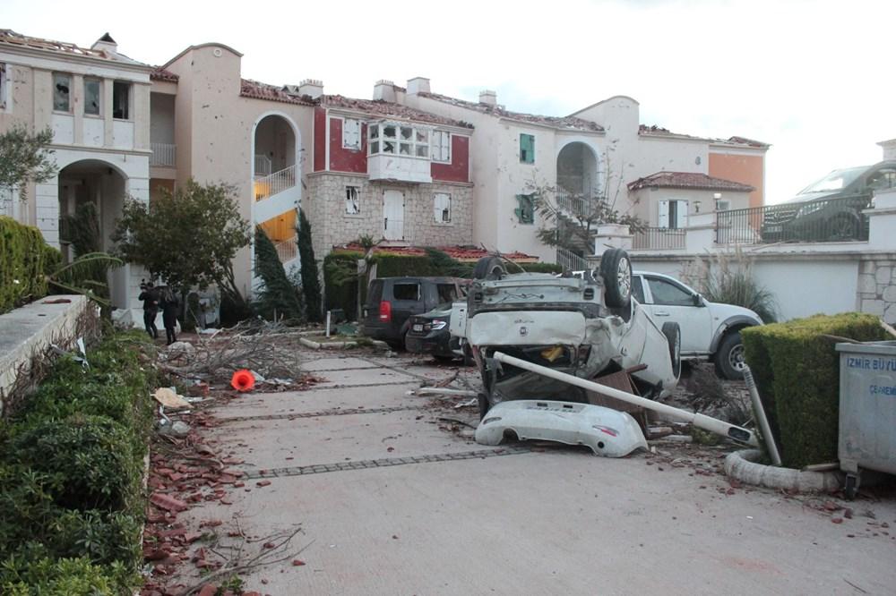 İzmir'de hortum felaketinin boyutları gün ağarınca ortaya çıktı - 19