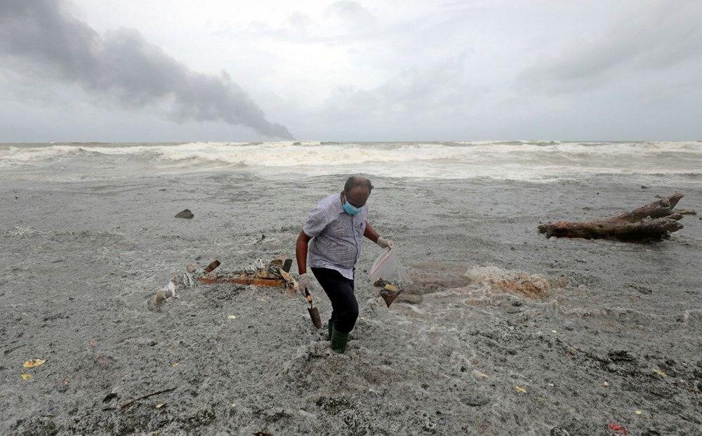 Kimyasal madde taşıyan gemi battı: Sri Lanka çevre felaketiyle karşı karşıya - 14