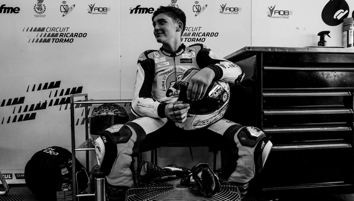 14 yaşındaki İspanyol motosikletçi kazada hayatını kaybetti