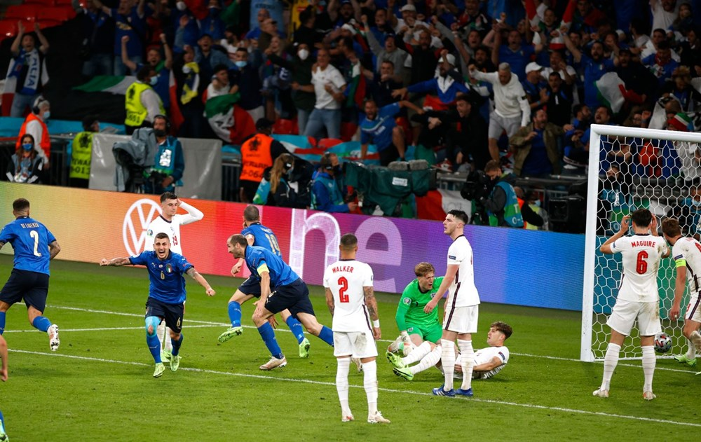 EURO 2020'de şampiyon İtalya - 13