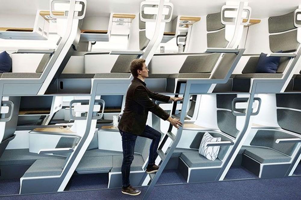 Corona virüs etkisi: İki katlı uçak yolculuğu geliyor - 3