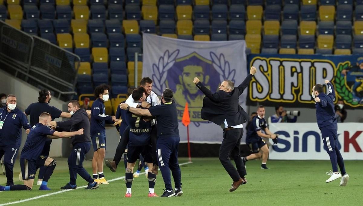 Fenerbahçe 90+6. dakikada attığı golle kazandı