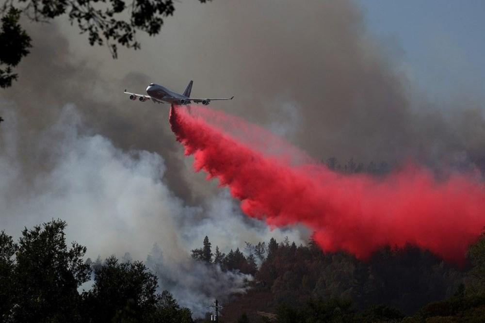 California'da yangınlar bitmiyor - 6