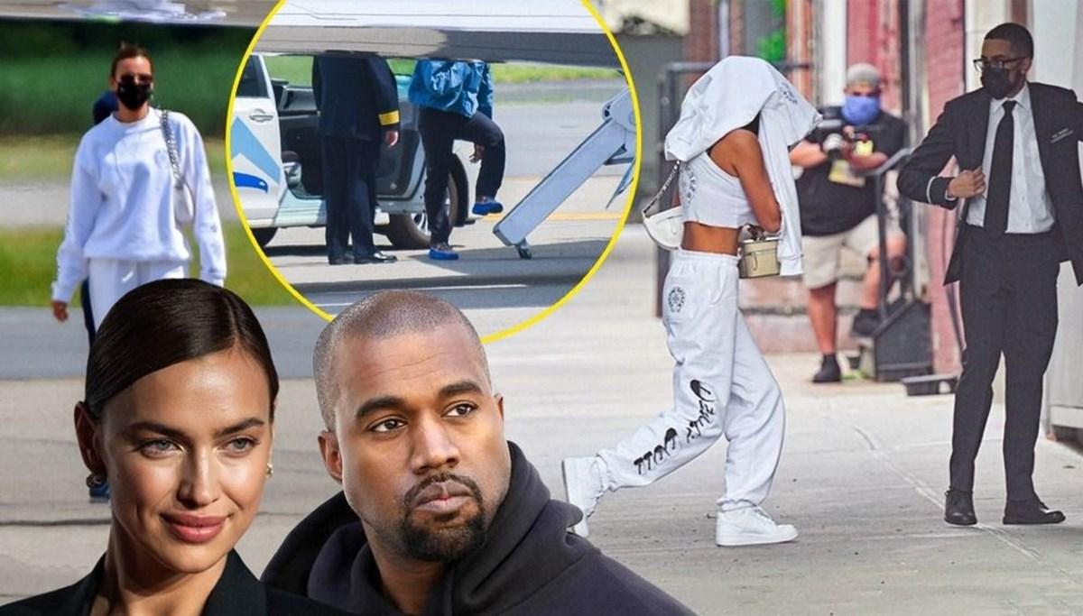 Kanye West ile Irina Shayk birlikteliği belgelendi