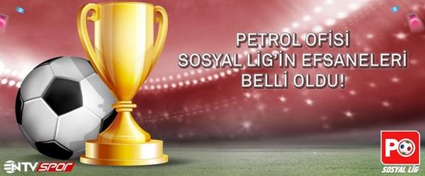 Petrol Ofisi Sosyal Lig'de şampiyon belli oldu!