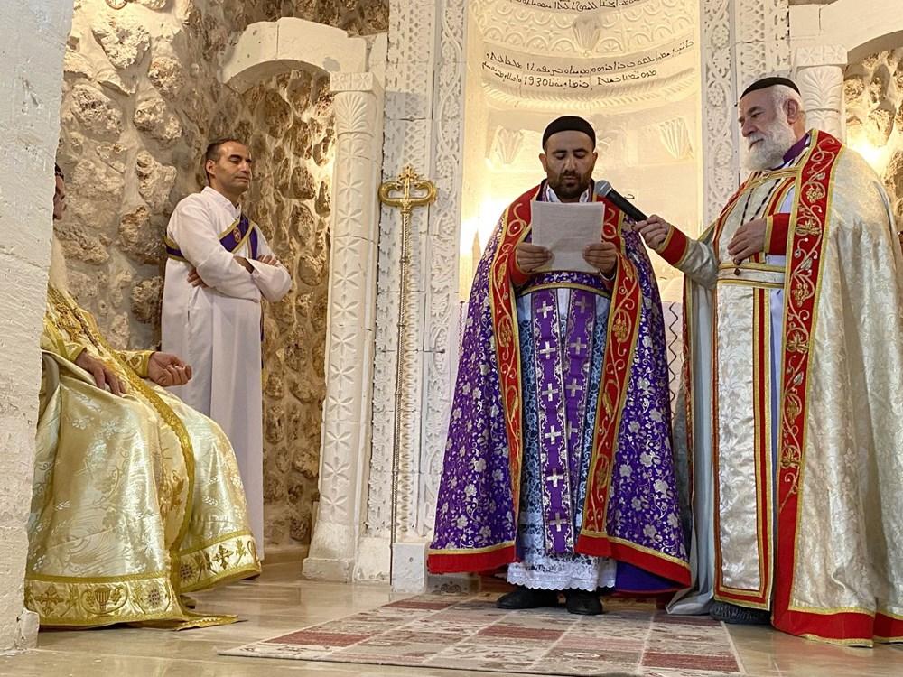 Midyat'ta Süryani cemaatinden 30 yıl sonra papaz töreni - 2