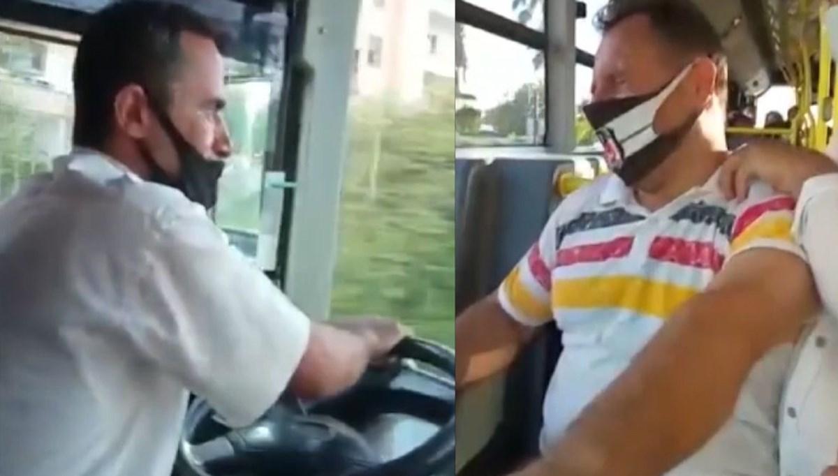 Belediye otobüsünde fenalaştı, şoför hastaneye yetiştirdi