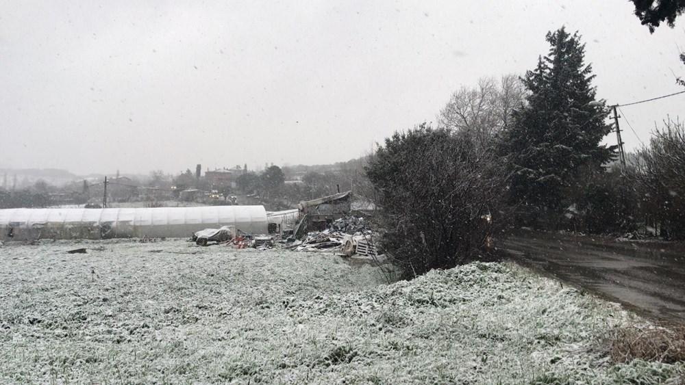 İstanbul'da beklenen kar yağışı başladı - 2