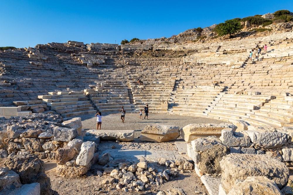 Ege ve Akdeniz'in birleştiği yer: Knidos - 4