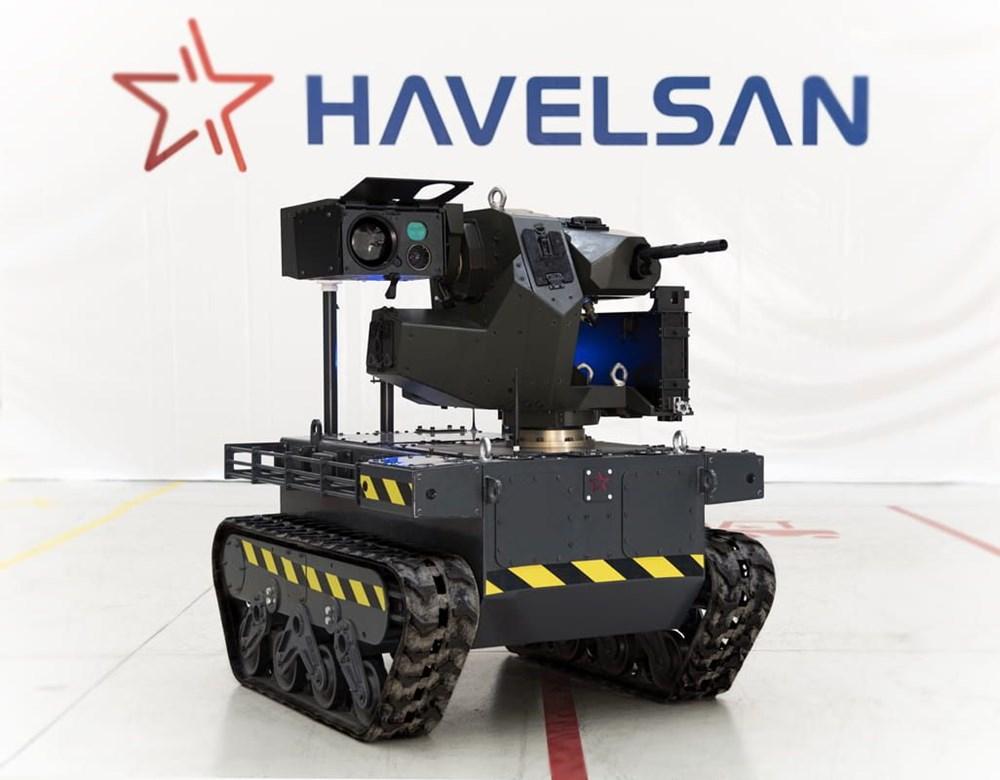 Dijital birliğin robot askeri Barkan göreve hazırlanıyor (Türkiye'nin yeni nesil yerli silahları) - 49
