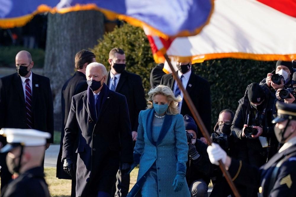 Joe Biden'ın yemin töreninden kareler (ABD'nin 46. Başkan Joe Biden göreve başladı) - 30