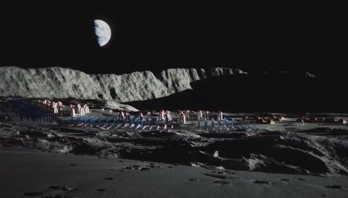 İnsanın Ay'daki ilk evi