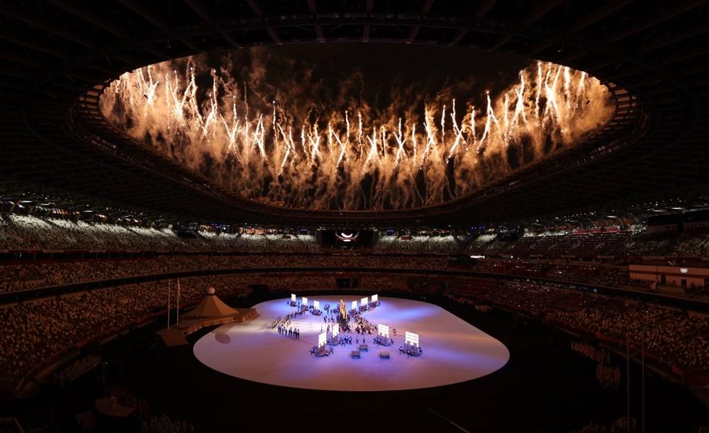 2020 Tokyo Olimpiyatları görkemli açılış töreniyle başladı - 59