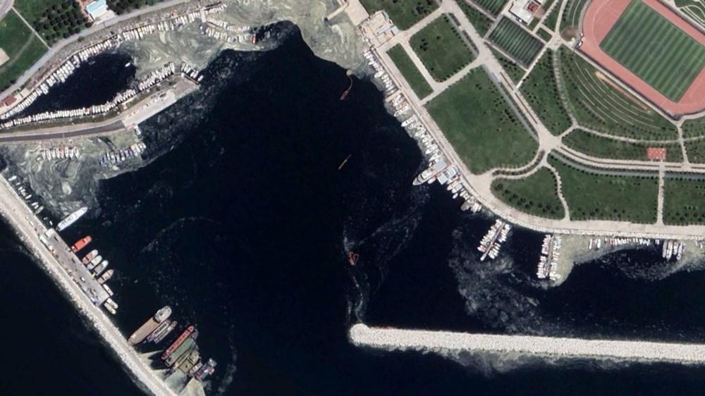 İstanbul'daki müsilaj uzaydan görüntülendi - 11