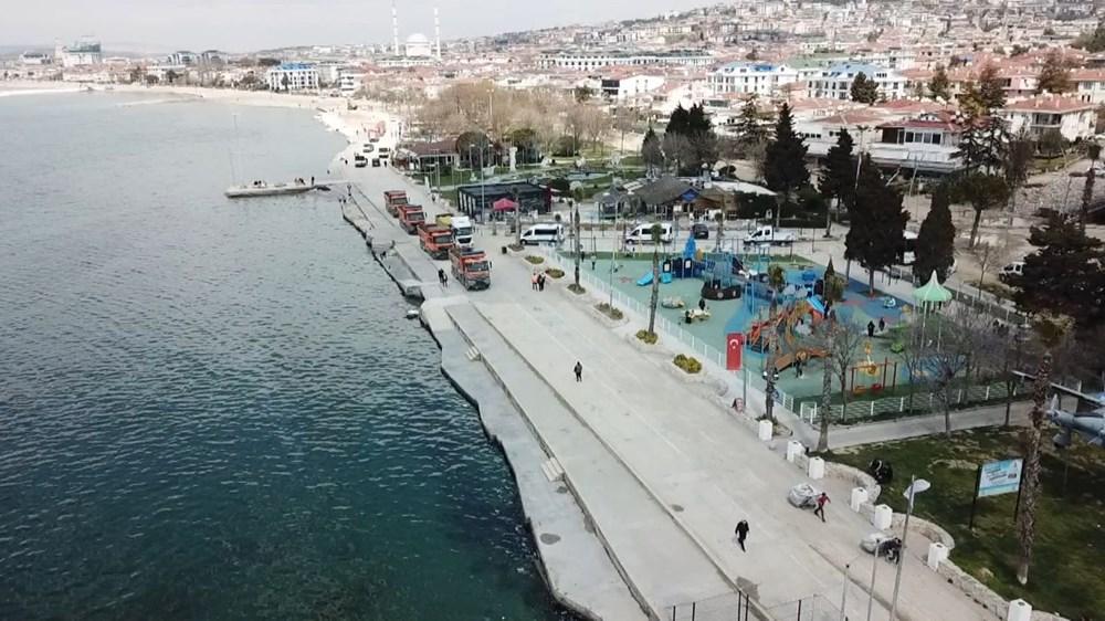 İstanbul'da 'tsunamiden kaçış' tabelaları - 4
