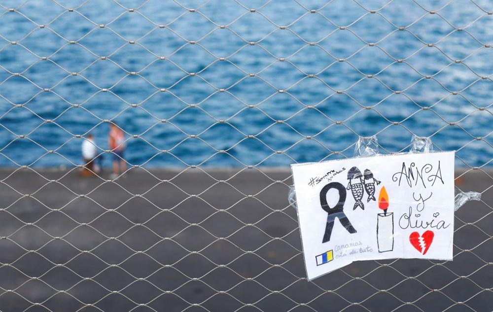 İspanya'yı sokağa döken cinayet: Bir ve altı yaşlarındaki iki kızını öldürüp okyanusa attı - 1