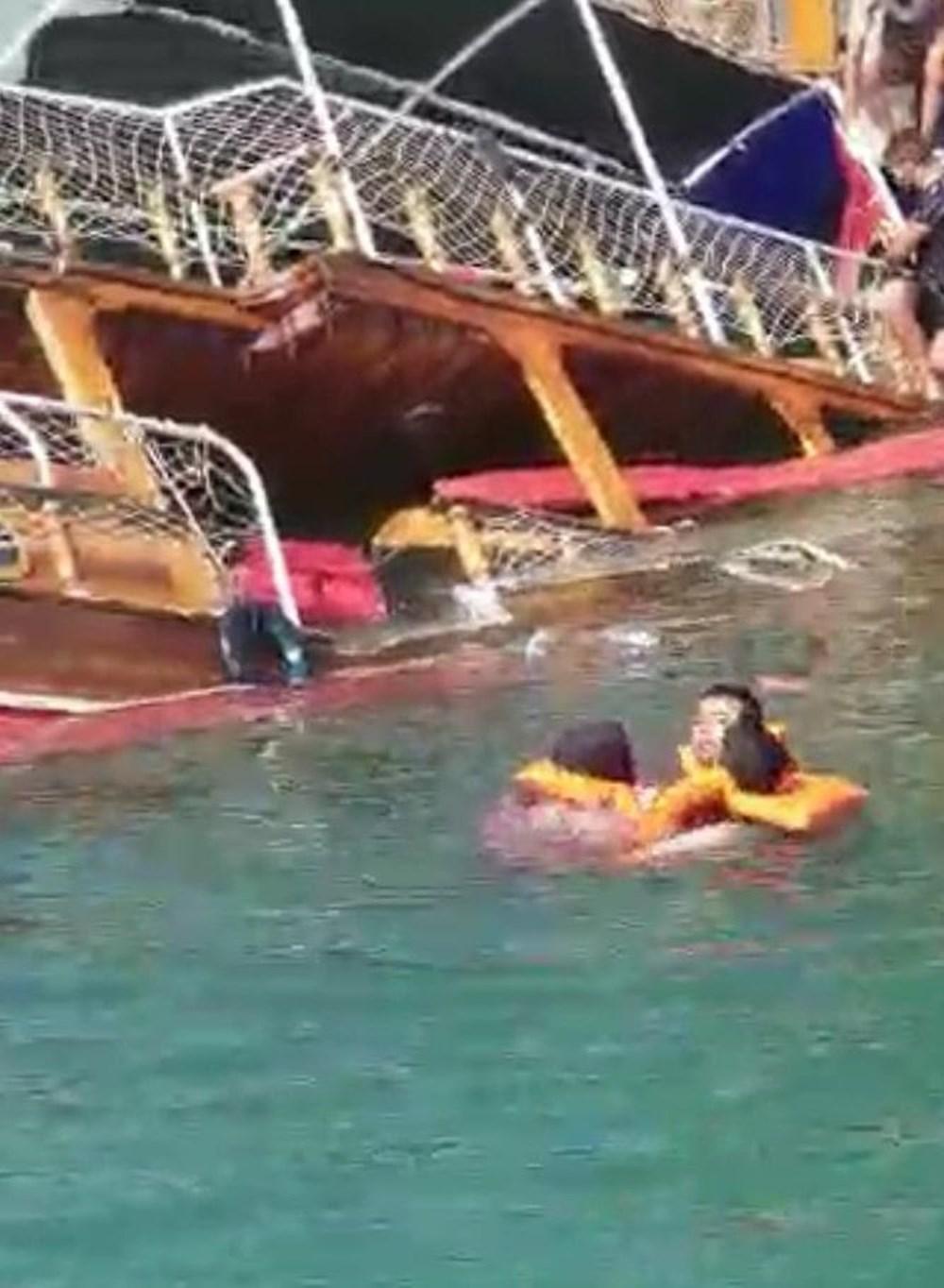 Şanlıurfa Halfeti'de tur teknesi battı - 2