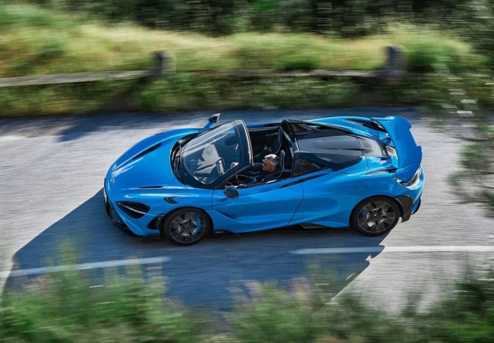 McLaren tarihinin en hızlı üstü açık modeli tanıtıldı:  765LT Spider - 13
