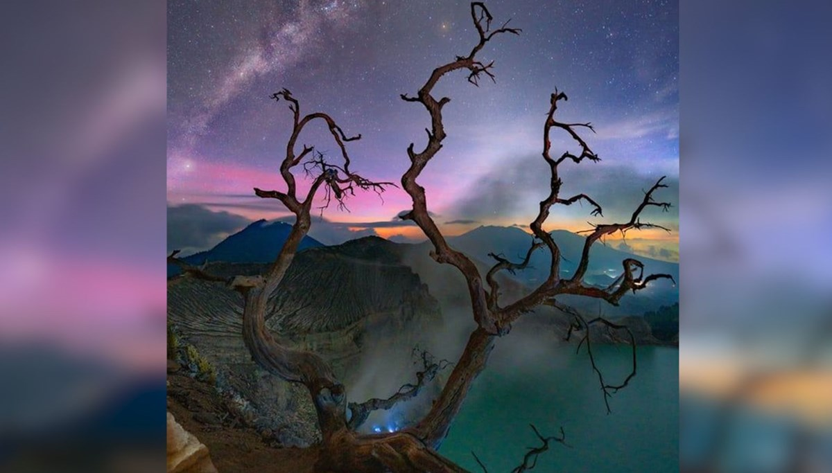 Amazing views from the Milky Way Galaxy