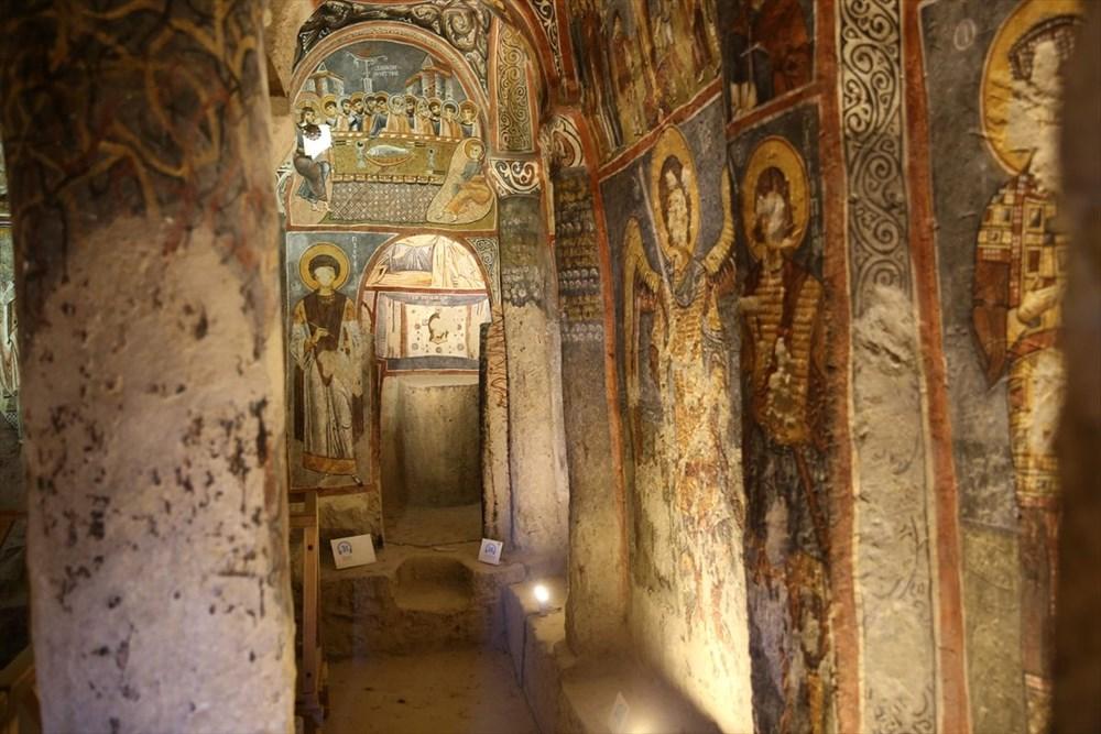 Karanlık Kilise'nin freskleri ile bin yıl öncesine yolculuk - 8