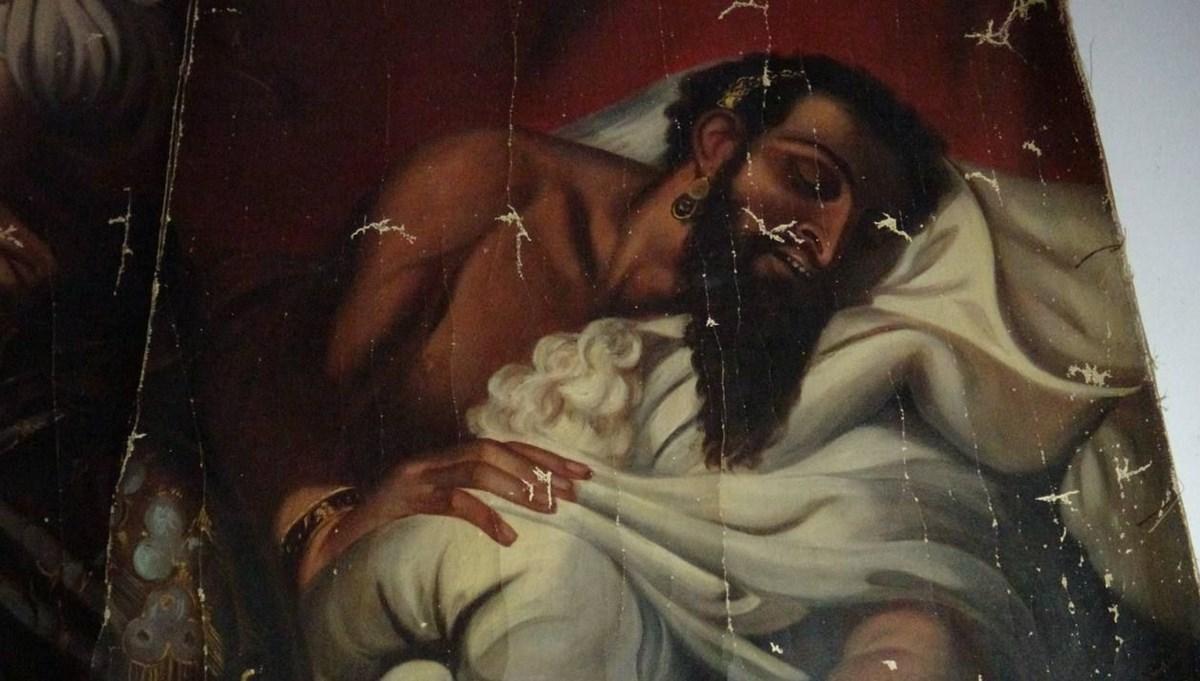 Tokat'ta ele geçirilen 140 yıllık Yahya Peygamber tablosu koruma altına alındı