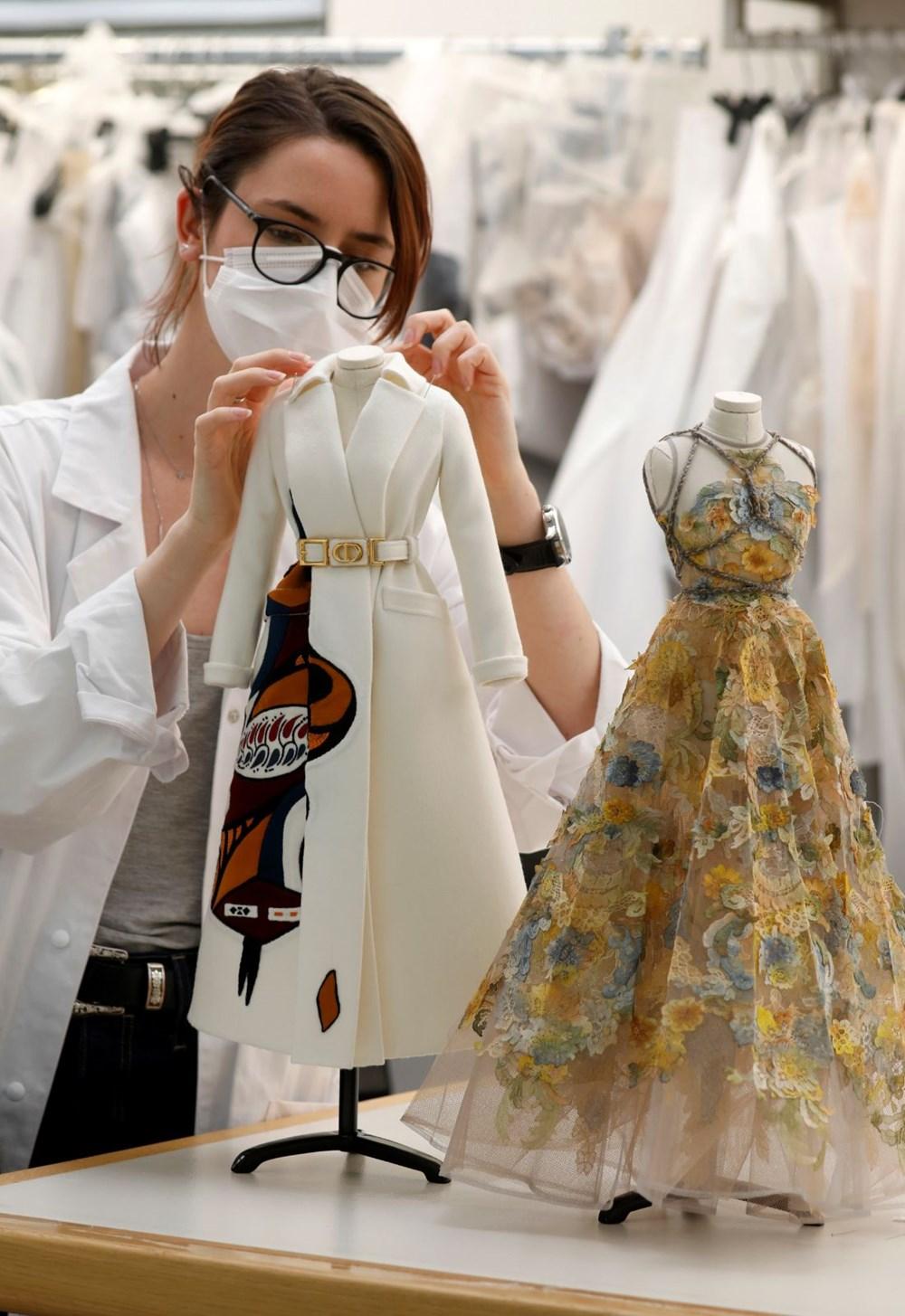 Dior'dan Dijital Moda Haftası için minyatür elbise tasarımları - 4