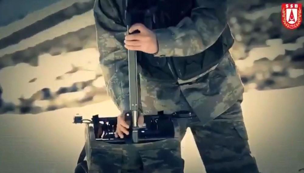 Dijital birliğin robot askeri Barkan göreve hazırlanıyor (Türkiye'nin yeni nesil yerli silahları) - 269