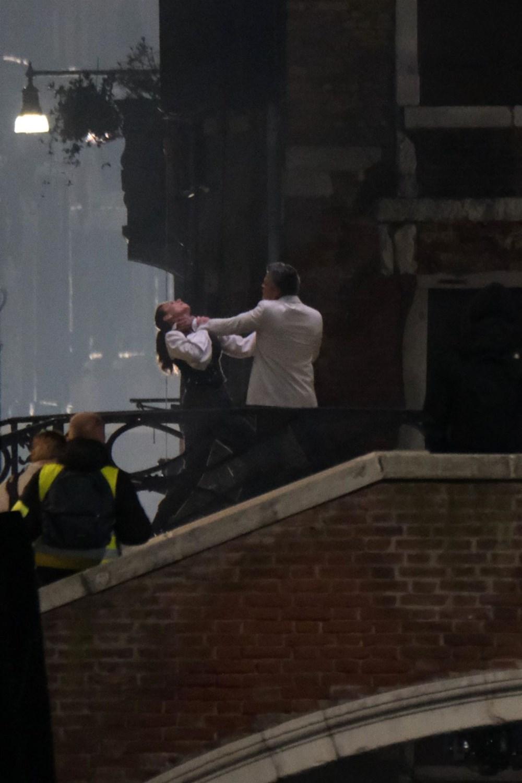 Görevimiz Tehlike 7 (Mission: Impossible 7) filminin dövüş sahnesi böyle çekildi - 4