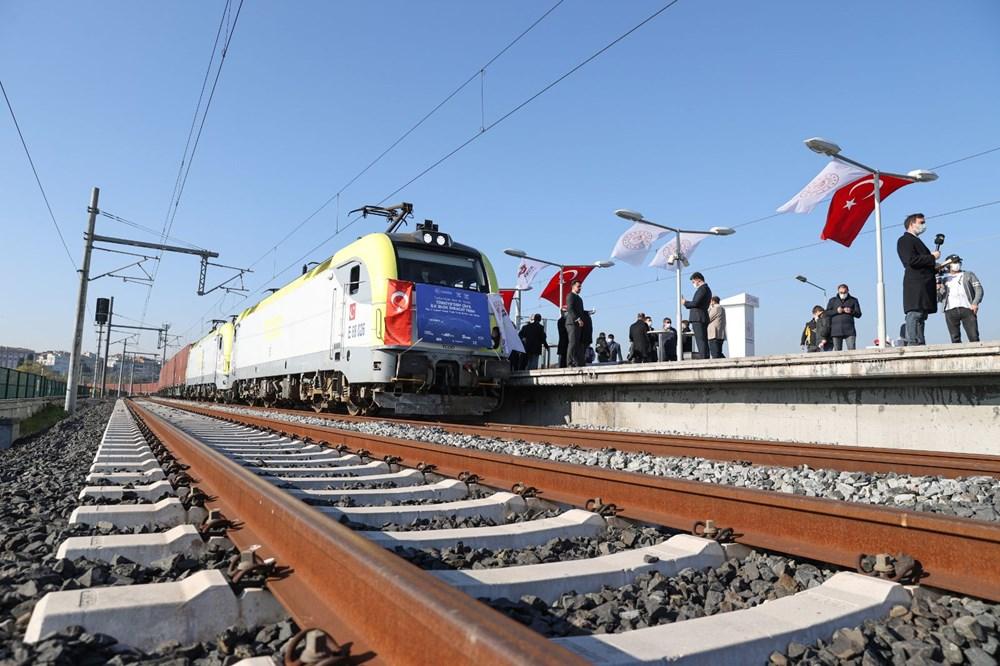 Türkiye'den Çin'e gidecek ilk ihracat treni İstanbul'dan uğurlandı - 15