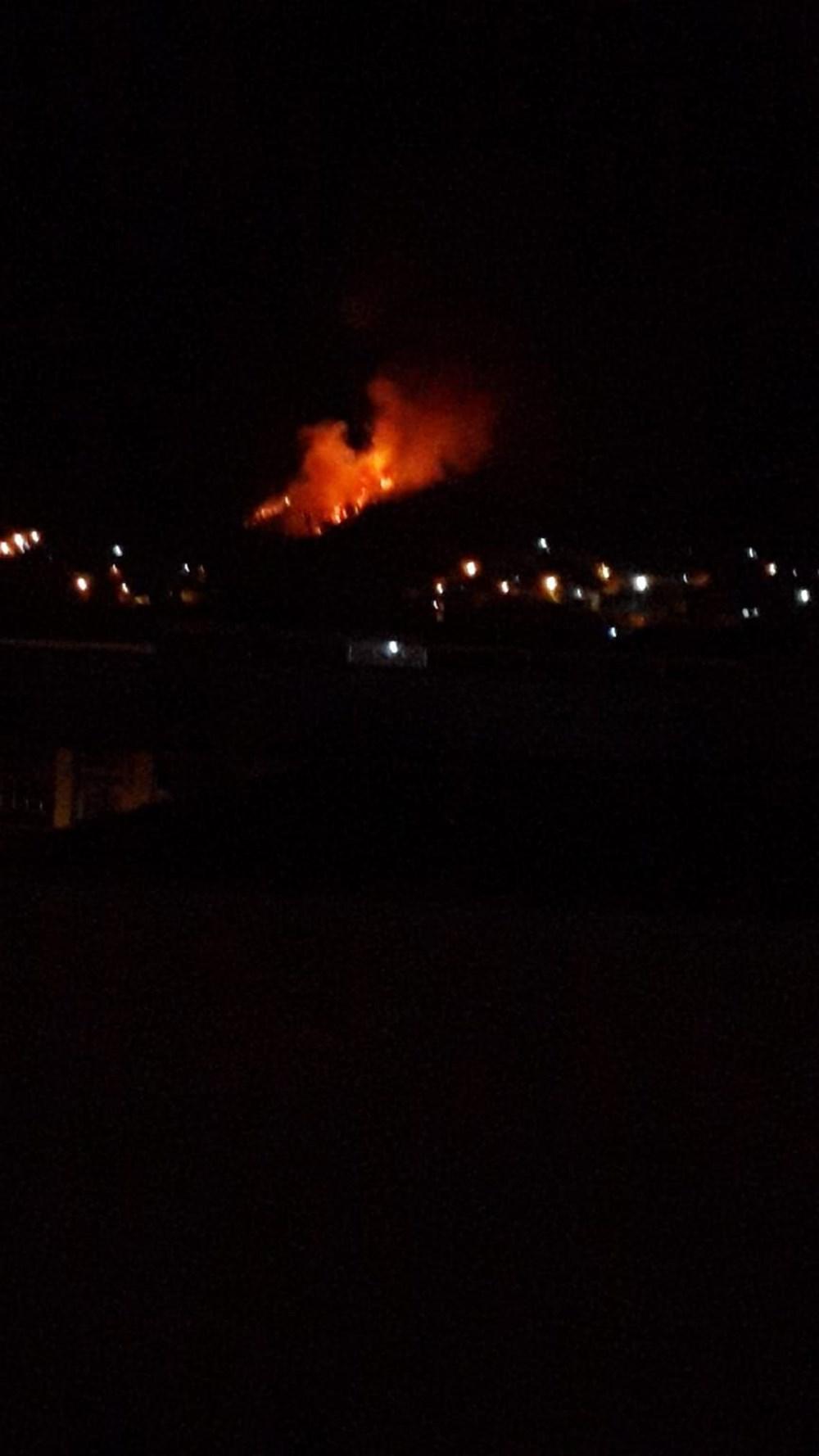 Antalya, Adana, Mersin, Aydın, Muğla, Osmaniye, Kayseri ve Manisa'da orman yangınları - 34