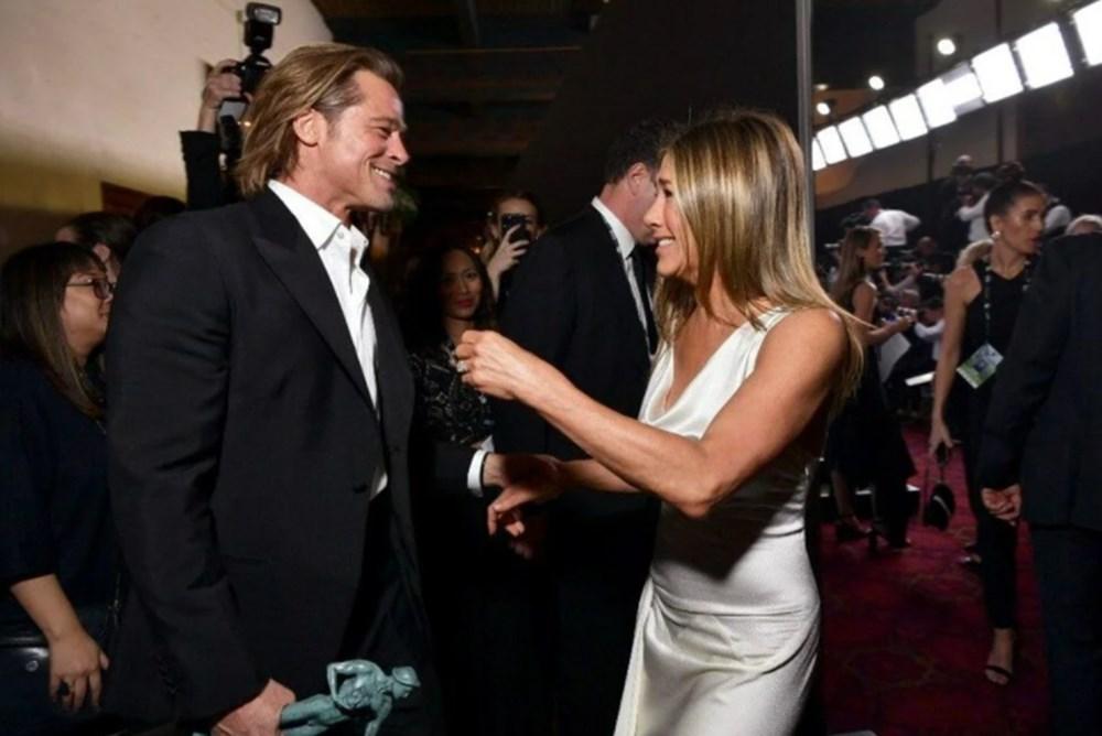 Jennifer Aniston'dan Brad Pitt açıklaması: Biz iki dostuz - 3