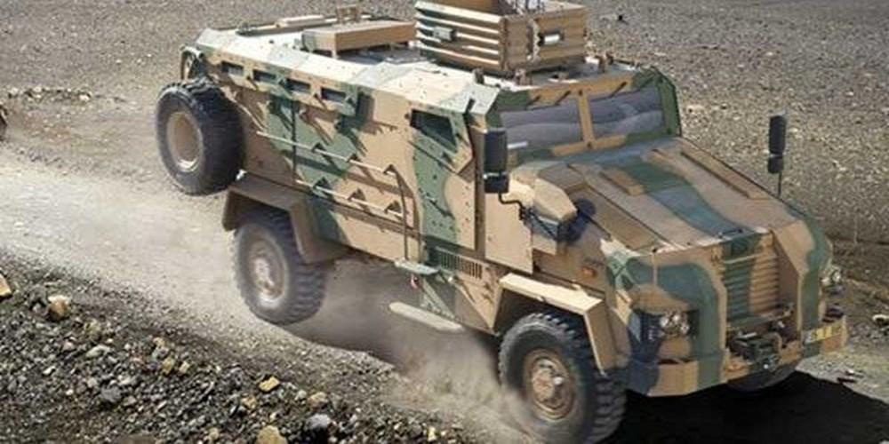 Dijital birliğin robot askeri Barkan göreve hazırlanıyor (Türkiye'nin yeni nesil yerli silahları) - 205