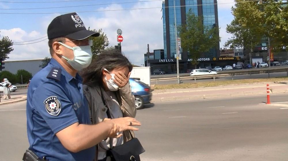 Selama pengintaian, mereka menyerang pengemudi wanita, polisi turun tangan dengan gas air mata - 13