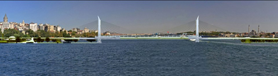 Haliç Metro Geçiş Köprüsü
