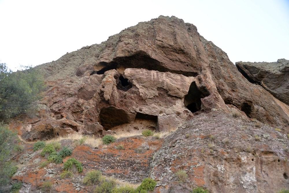 Hristiyanların gizli ibadet yaptıkları 1500 yıllık mağaralar ilgi çekiyor - 5
