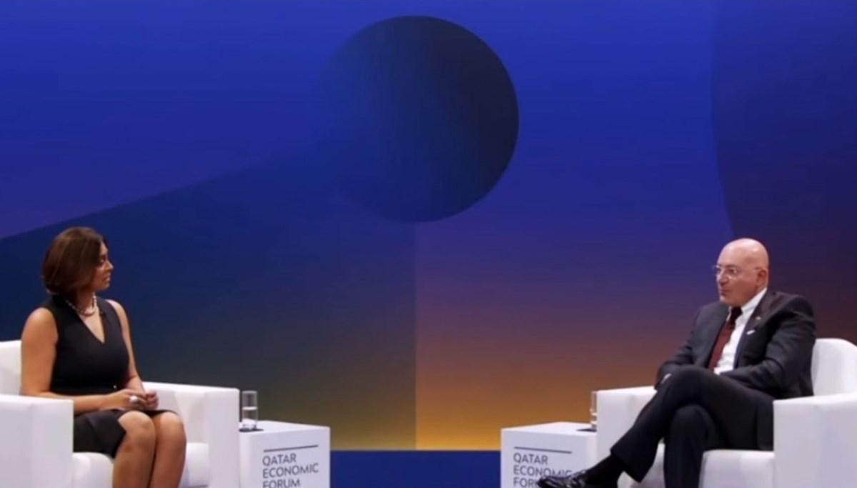 Ferit Şahenk, Katar Ekonomik Forumu'nda yeni dönemi anlattı
