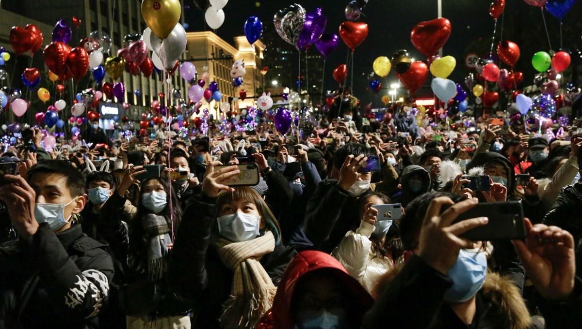 Wuhan'da yeni yıl kutlamaları