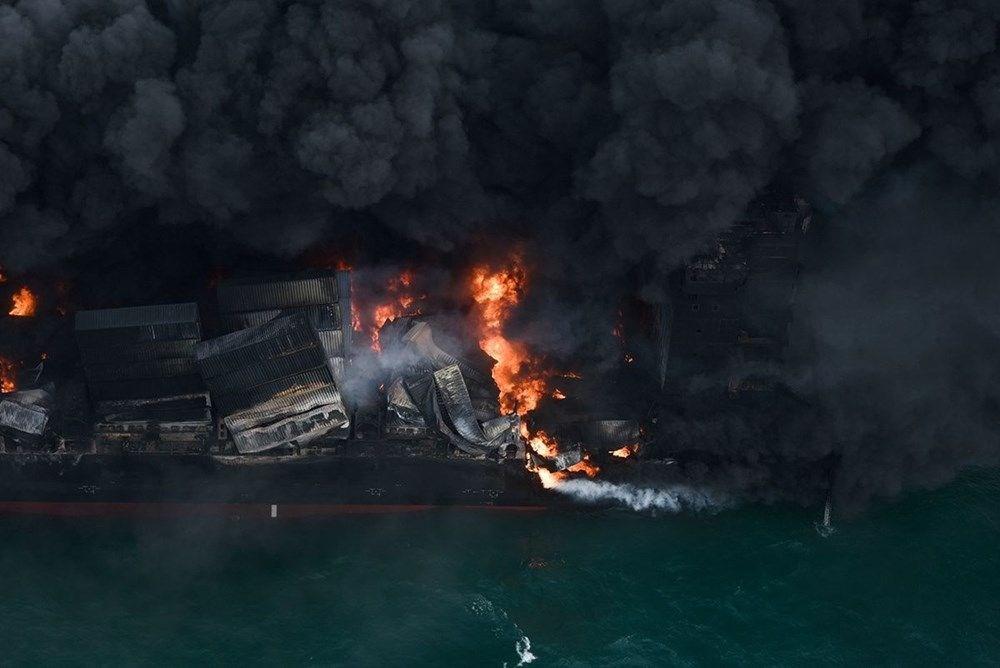 Kimyasal madde taşıyan gemi battı: Sri Lanka çevre felaketiyle karşı karşıya - 11