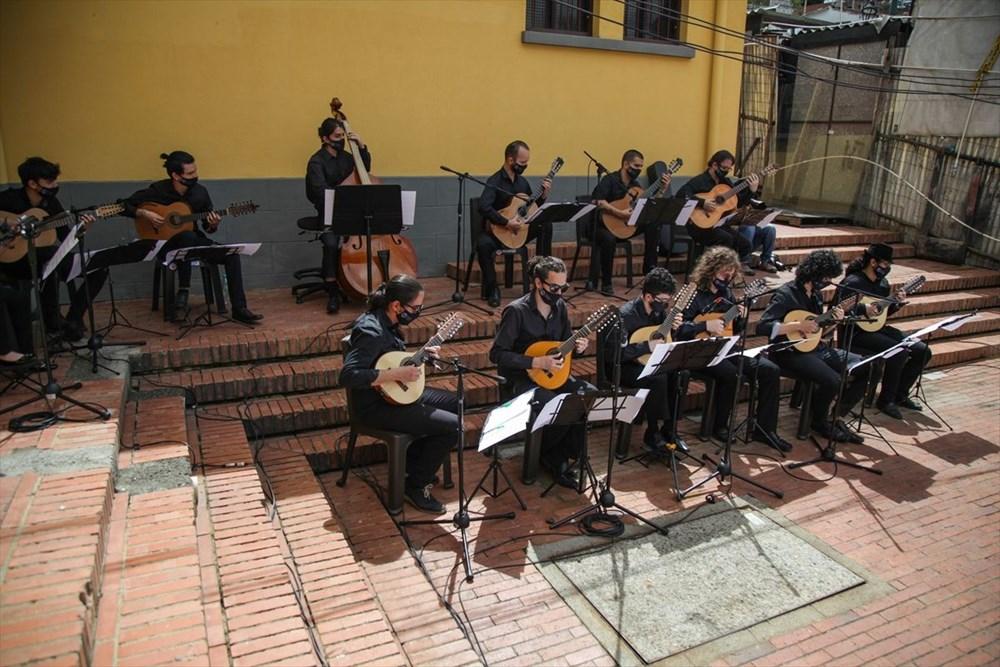 Bogota Filarmoni Orkestrası hayvanların korunması için konser verdi - 2