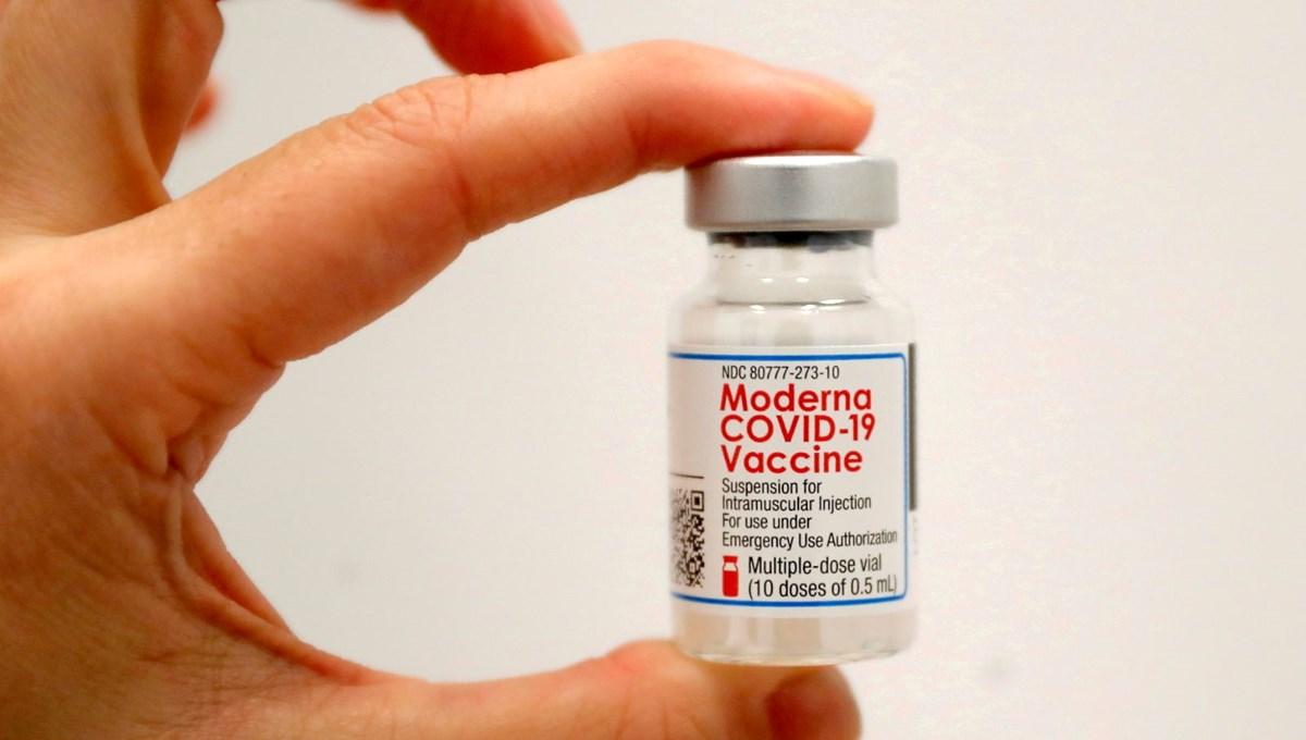 ABD'de Moderna aşısının üçüncü dozuna ilk onay