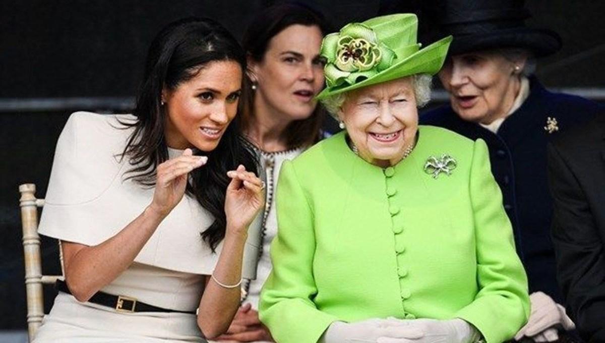 Cenazeye katılmayan Meghan Markle, Kraliçe Elizabeth'i aradı iddiası