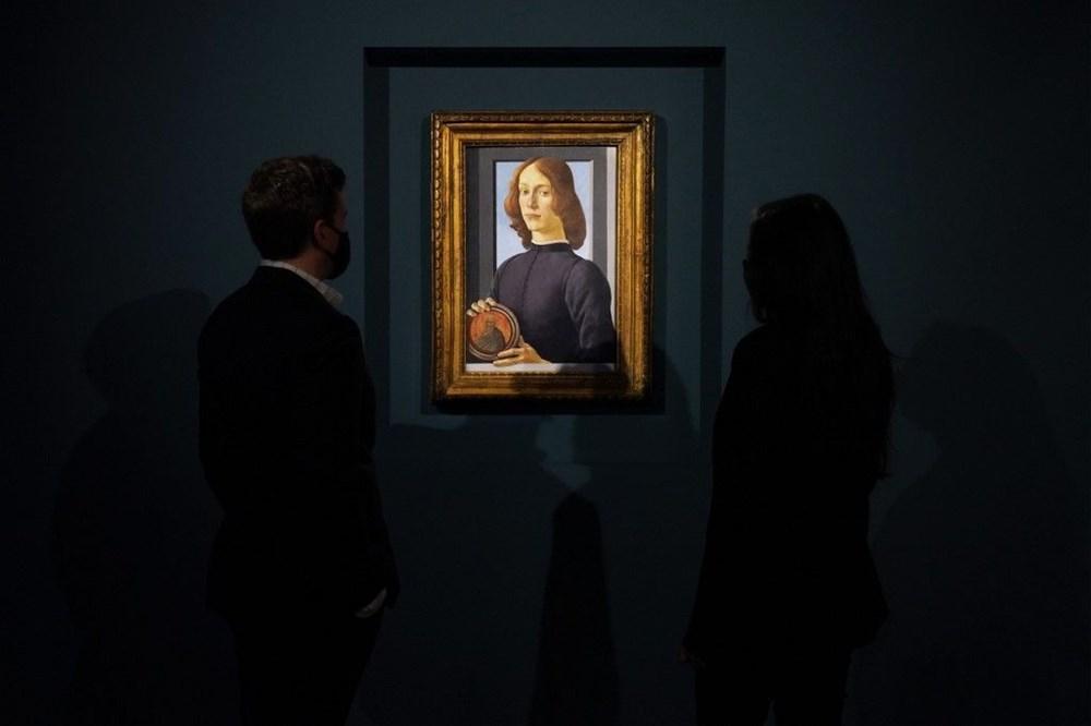 Botticelli'ye ait tablo 2021'in müzayede rekorunu kırdı: 92 milyon dolar - 6
