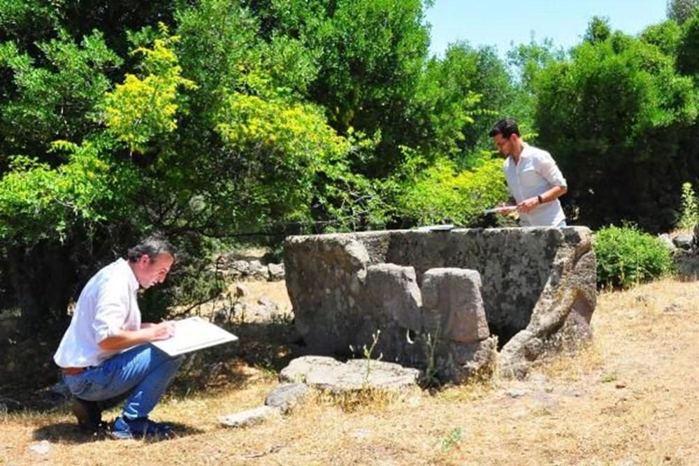 Aigai Antik Kenti'nde 3 bin mezar: Ortalama yaşam 40-45 yıl - 15