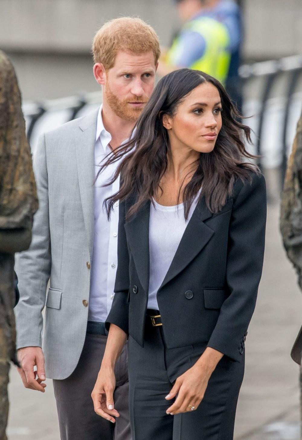 Meghan Markle, Prens Harry ile birlikte Londra'ya gidiyor - 3