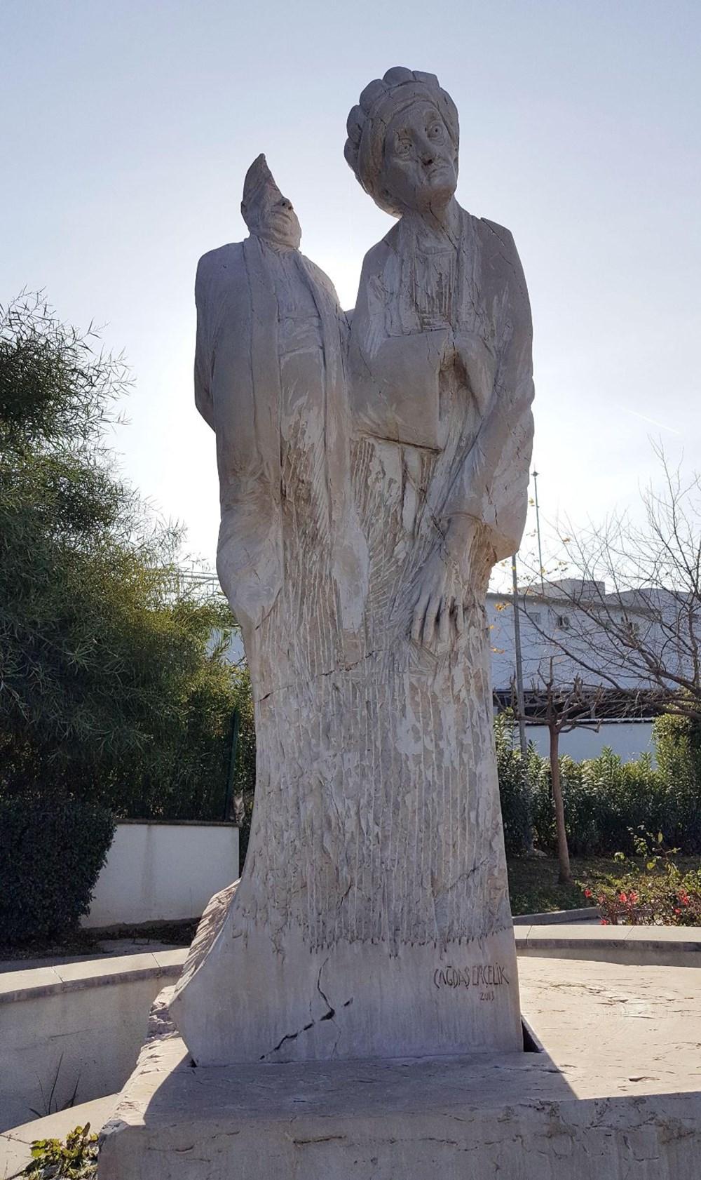 Antalya'da heykel saldırıları devam ediyor - 4