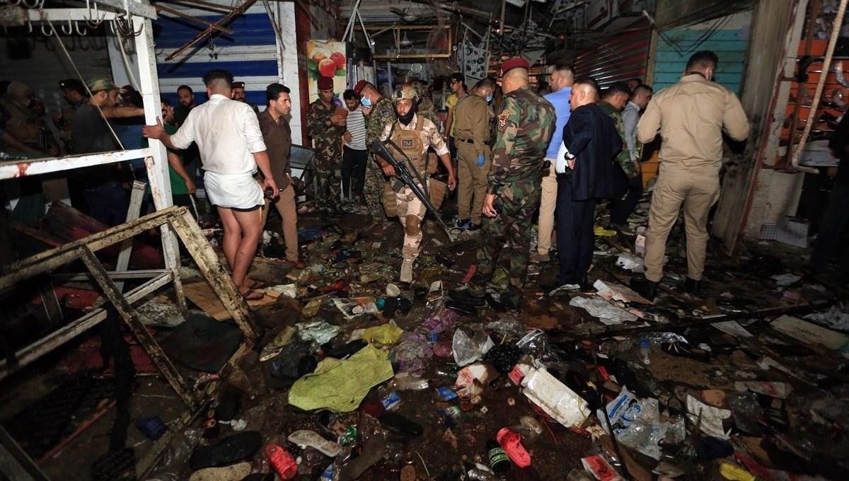 SON DAKİKA HABERİ: Bağdat'ta patlama 22 kişi öldü, 47 yaralı
