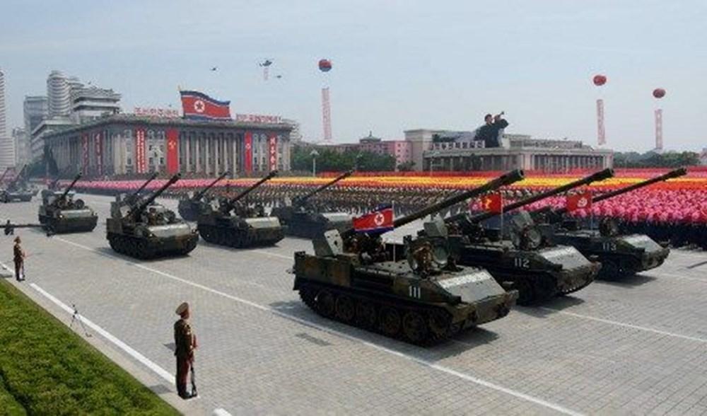 Kuzey Kore tarihi geçit törenine hazırlanıyor - 6