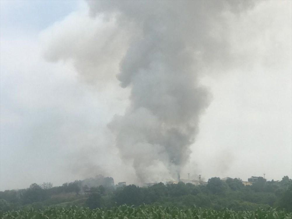 Sakarya'da havai fişek fabrikasındaki patlamadan fotoğraflar - 17
