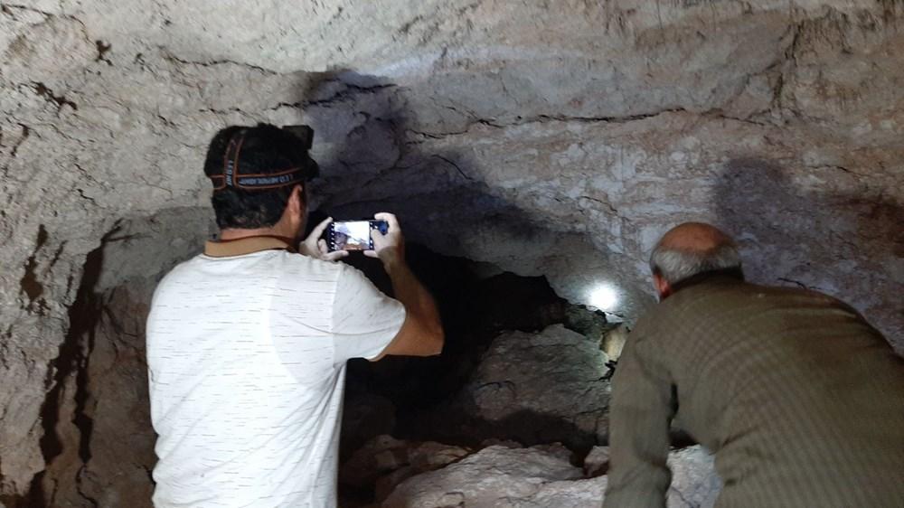 Adıyaman'da foseptik çukuru kazarken tünel buldular - 2